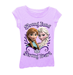 Disney FROZEN Strong Bond Girls 7-16 Tee Shirt