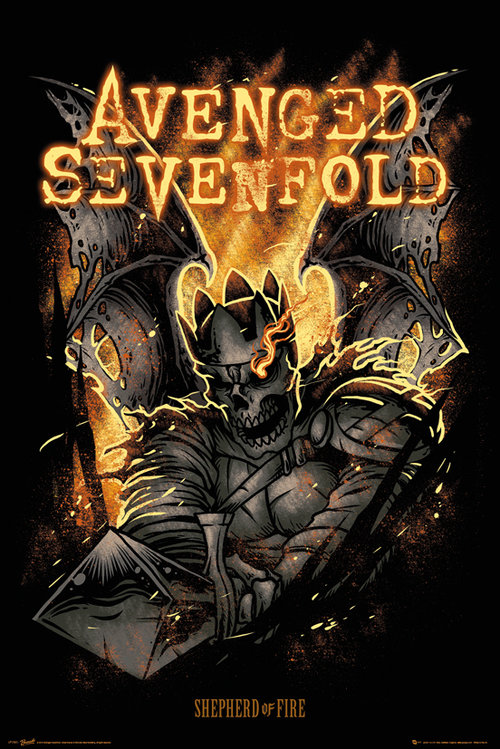 Avenged Sevenfold Shepherd of Fire Maxi Poster