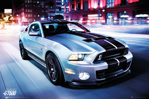 Fold Shelby GT500 2014 Maxi Poster
