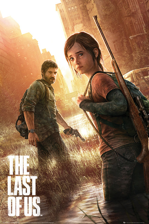 The Last of Us Key Art Maxi Poster