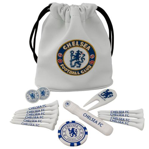 Chelsea F.C. Tote Bag Golf Gift Set