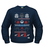 Star Wars Sweatshirt Dark Side Fair Isle