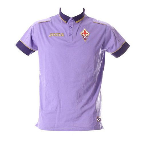 2014-2015 Fiorentina Joma Polo Shirt (Purple)