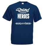 Transfer Printed T-shirt - Brand New Heroes