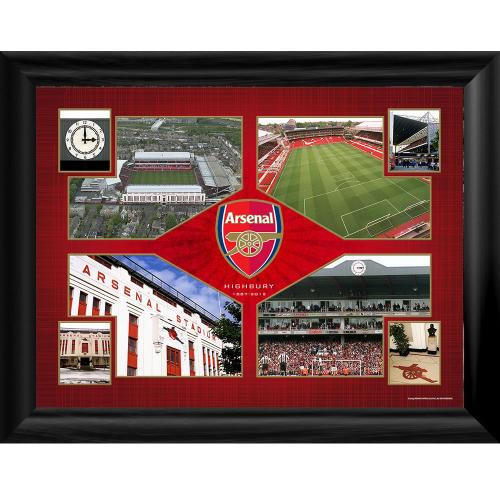 Arsenal F.C. Framed Print Highbury Montage 16 x 12