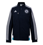 2014-2015 Chelsea Adidas Anthem Jacket (Dark Marine)