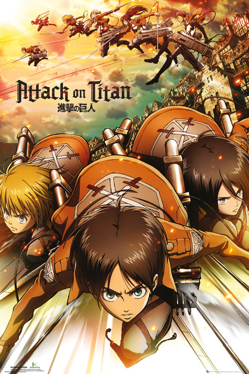 Attack on Titan Attack Maxi Poster