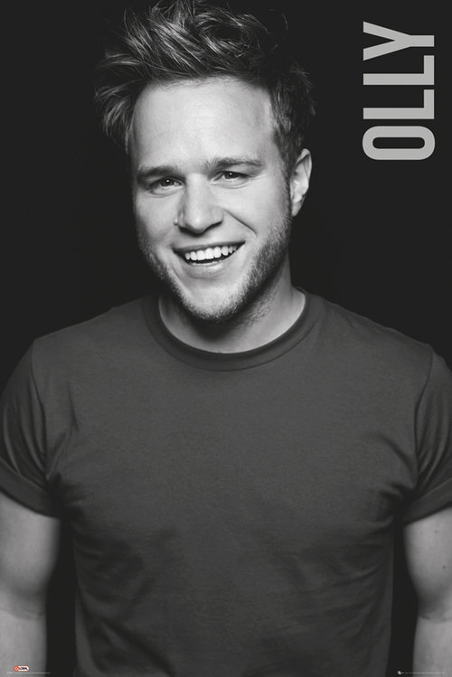 Olly Murs Black and White Maxi Poster