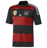 2014-2015 Germany Away 4 Star Winners Football Shirt