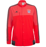 2014-15 Bayern Munich Adidas Button Anthem Jacket (Red)