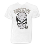 SPIDERMAN Men's White Brooklyn Tee Shirt