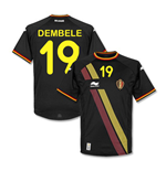 2014-15 Belgium World Cup Away Shirt (Dembele 19)