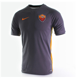 2014-2015 AS Roma Nike Training Shirt (Black)