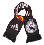2014-2015 Real Madrid Adidas 3 Stripe Scarf (Black)