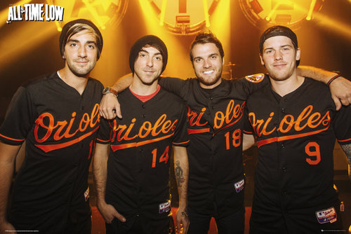 All Time Low Group Maxi Poster