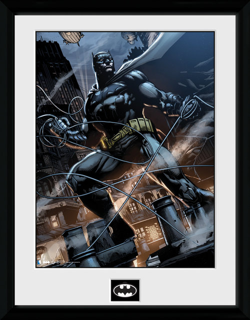 Batman Comic Rope Framed Collector Print