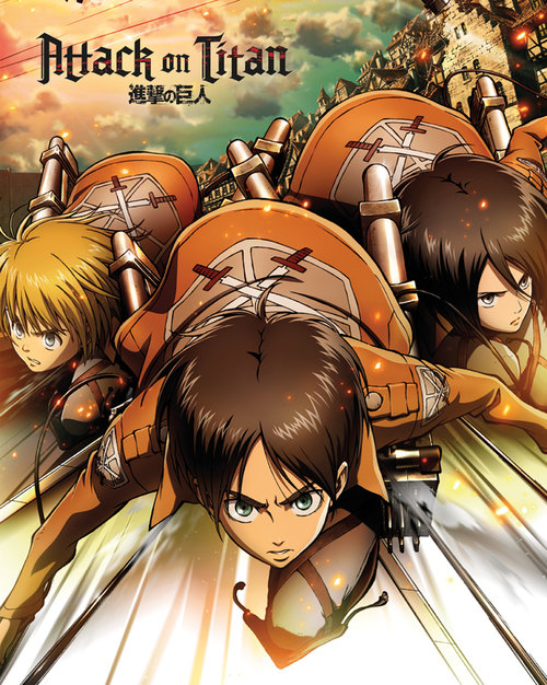 Attack on Titan Attack Mini Poster