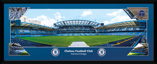 Chelsea Stamford Bridge Framed Collector Print