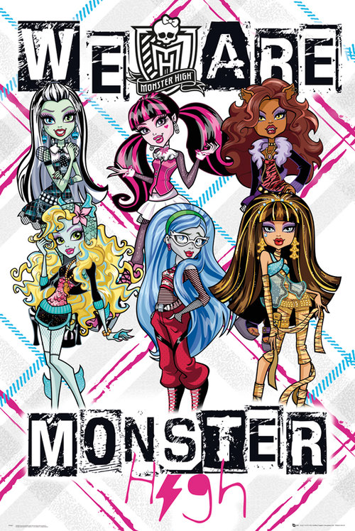 Monster High We Are Maxi Poster
