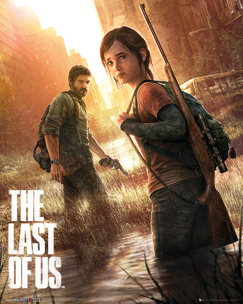 The Last of Us Key Art Mini Poster