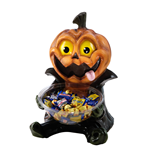 Halloween Candy Bowl Holder Pumpkin 50 cm