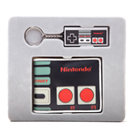 NINTENDO Original NES Controller Bi-Fold Wallet and Rubber Keychain Giftset