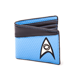 Star Trek Wallet Bifold Science Logo Blue