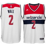 Mens Washington Wizards John Wall adidas White New Swingman Home Jersey