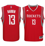 Mens Houston Rockets James Harden adidas Red New Swingman Road Jersey
