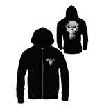Punisher Zipped Hooded Sweater Logo
