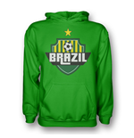 Brazil Country Logo Hoody (green) - Kids