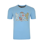 England RWC 2015 Coat of Arms Tee (Blue)