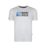RWC 2015 Rugby T-shirt (White)