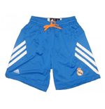 2013-14 Real Madrid Adidas Basketball Shorts (Blue)
