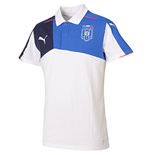 2015-2016 Italy Puma Stadium Polo Shirt (White) - Kids