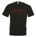 Transfer Printed T-shirt - strawberry wails