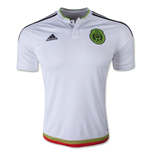2015-2016 Mexico Away Adidas Football Shirt