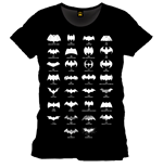 Batman T-Shirt Logo Evolution