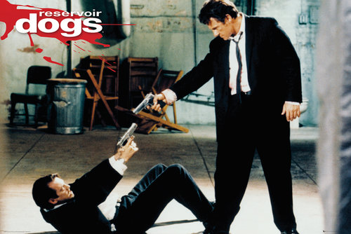 Reservoir Dogs Guns Maxi Poster