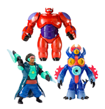 Big Hero 6 Feature Action Figures 15 cm Assortment (6)