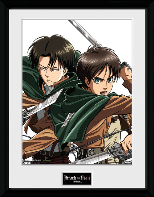 Attack On Titan  Framed Collector Print