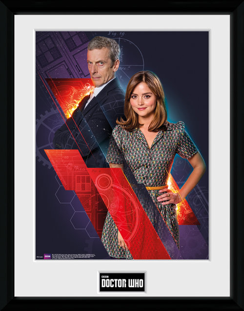 Doctor Who Clara & Doctor Framed Collector Print