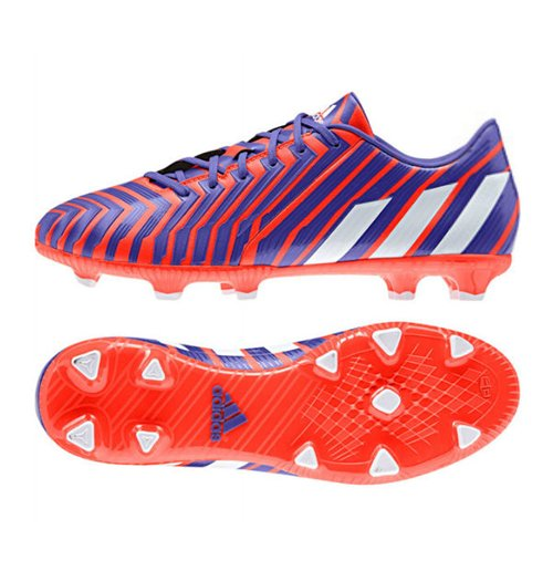 Details about adidas P Absolado Instinct FG Mens Football Boots Trainers Red & Purple