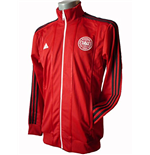 2015-2016 Denmark Adidas Track Jacket (Red)