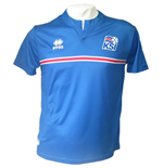 2014-2015 Iceland Home Errea Football Shirt