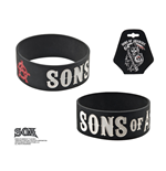 Sons Of Anarchy Rubber Wristband Grim Reaper