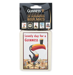 GUINNESS 20 Pack Beer Coasters
