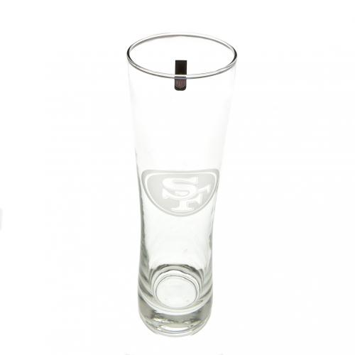 San Fransisco 49ers Tall Beer Glass