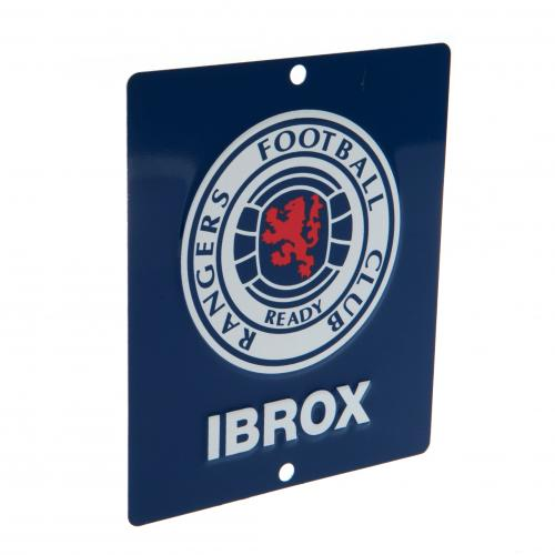 Rangers F.C. Window Sign SQ
