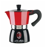 AC Milan Moka Coffee Machine